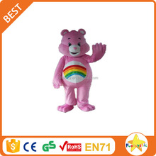 Funtoys CE adult size pink care bear mascot costume