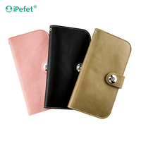 Premium Ultra Slim Flip Wallet Universal Leather Case For Mobile Phone For iPhone 6 For Samsung