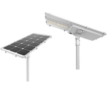 30w integrated battery solar pannel powered led street lighting controled by Microwave sensor