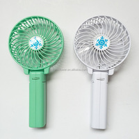 Portable rechargeable USB mini hand held fan