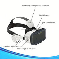 2016 New Design Products VR BOX 3D Glasses Virtual Reality Headset for Mobile
