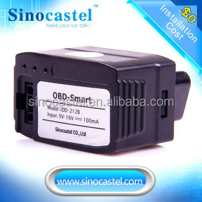 Mobile phone OBDII car bluetooth diagnostic tool support android and IOS