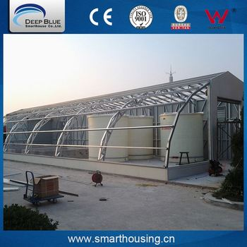 Top quality shape colors light steel structure prefabricated house