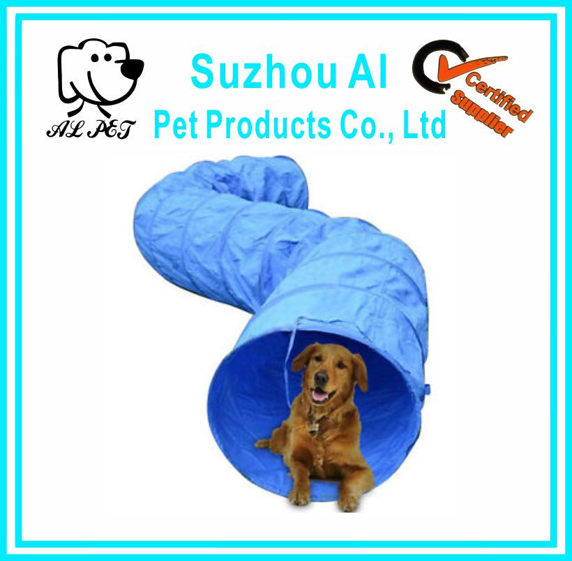 High Quality 210D Polyester Dog Agility Tunnel With Carring Bag
