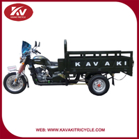 2016 Good quality Guangzhou kavaki brand bottom price carry 600kgs cargo three wheel tricycle with cabin cheap for sale