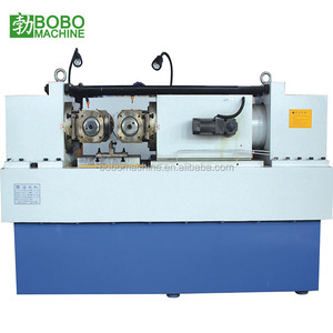 Threaded rod screw making machine