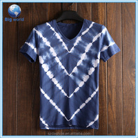 2015 New arrival v shape t shirt print& high quality t-shirt wholesale china&latest all over print t shirt design for men