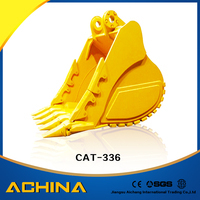 mini excavator bucket for cat336 for sale