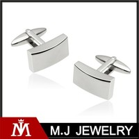 316l stainless steel men's fashion high quality cuff links