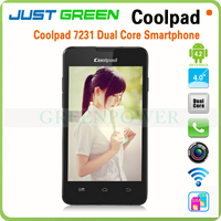 unlocked dual sim card Dual core MTK6572 Android 4.2 Bluetooth Coolpad 4 inch cheap original cell phones