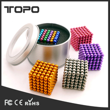 Manufacturer wholesale 3mm 5mm permanent Nano anti stress fidget cube Super Strong neo puzzle magnet ball cube