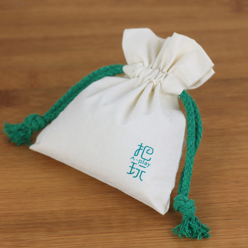 Small Cotton Bag Gift Pouch Bag
