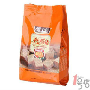 Plastic side gusset bread/cookie bags custom printed, good aroma and fragrance keeping property,extended shelf life