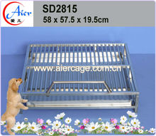 quality assurance weld mesh dog cage dog kennel cage stainless steel