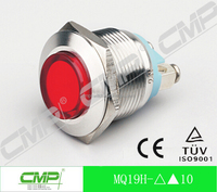 CMP metal indicator light, 19mm waterproof led signal light