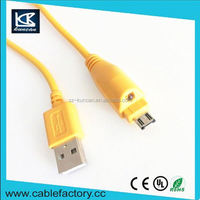 Mobile phone charging cable 24awg micro usb cable