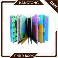 Factory welcome custom printing children cardboard cover book english story book for kids