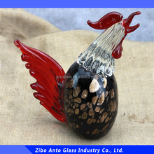 Hot Style Glass Rooster Figurine Glass cock Murano Glass