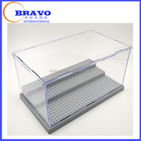 Disassemble Acrylic lego display box, lego man display case, display cases for collectibles