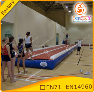 new design Inflatable Tumble Track/inflatable air track/air track for sale