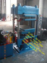 CE Certification Rubber Tile Vulcanizing press , rubber plate vulcanizer ,rubber curing press famous product line