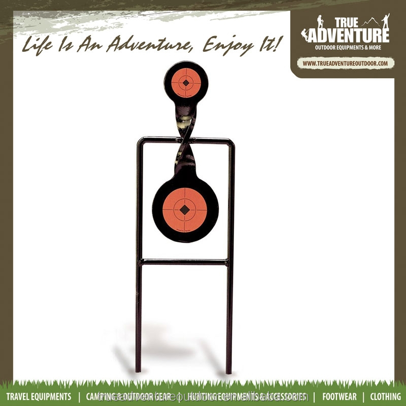 True Adventure TB3-019 Outdoor Hunting Automatic Shooting Target,Resetting Target/ Steel Spinning Targets