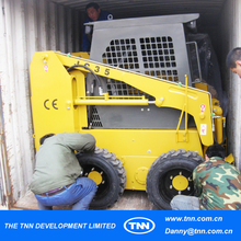 #11-1 Mini articulated best skid steer factory by sea