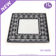 HX-6696 4x6 Handmade Dragonrfly Clear Glass Photo Frame