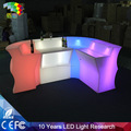 Glowing bar nightclub counter /LED reception counter desk design/hotel service LED reception desk