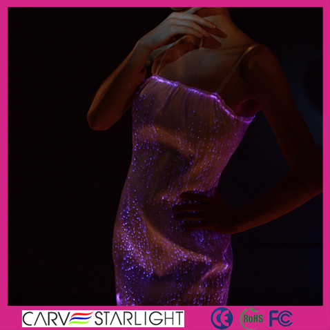 Sexy Shiny Dance Costumes Wedding Short Dresses LED Light Blue/Yellow/Pink/Red Cocktail Dress