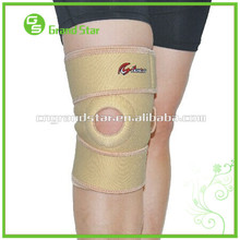 Sports adjustable Knee Sleeve, Medical Nylon Neoprene Knee Support