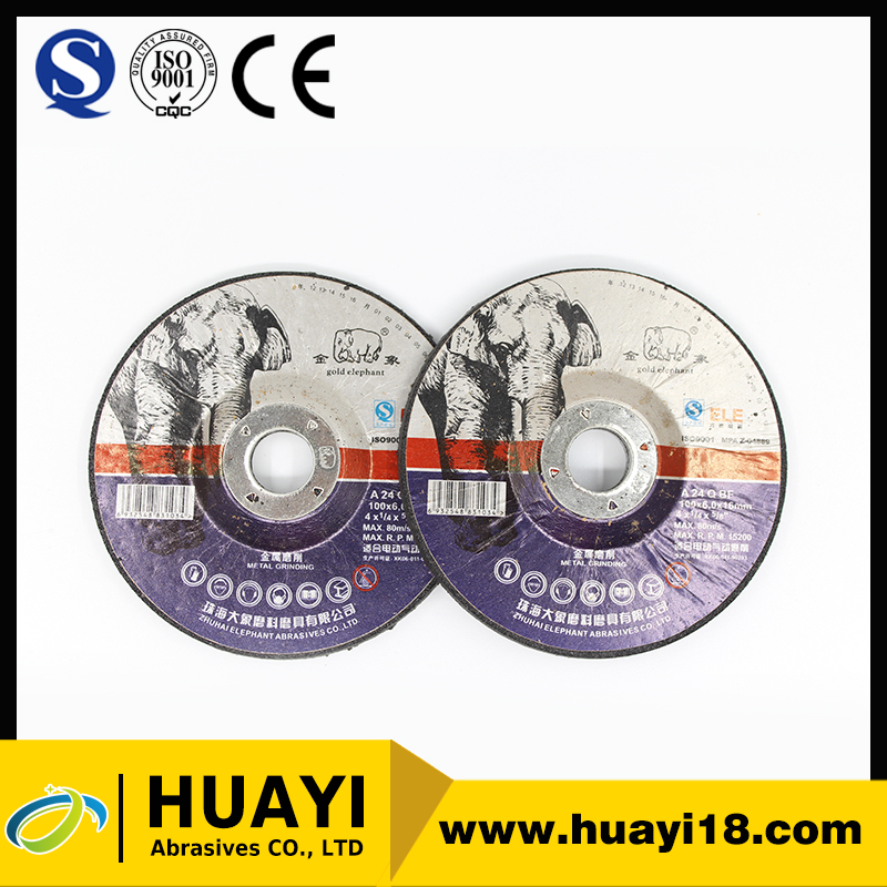 Abrasive concrete metal cutting wheel for rubber