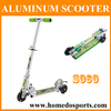 Aluminum Kick Scooter with Wide Deck
