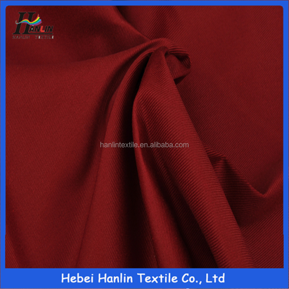 85% polyester 15% cotton TC twill fabric for trousers pants