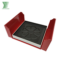 Custom design handmade double coverchocolate paper packaging box /recycle candy paper box