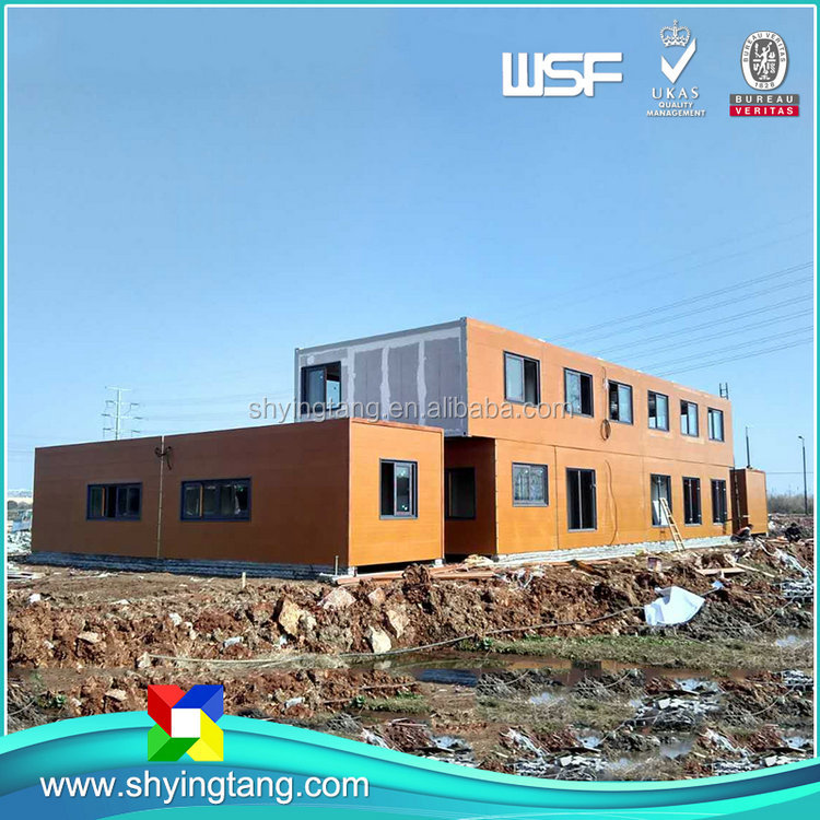 Large Capacity durable high quality prefab shipping container homes for sale