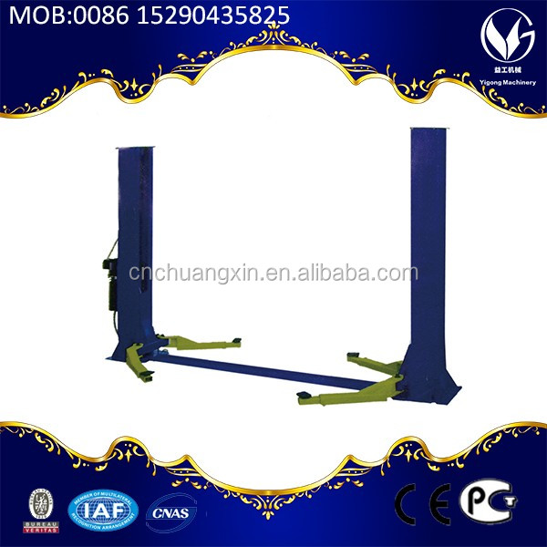 Hydraulic 4 post mini car lift for sale