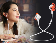 Made in China best noise cancelling handsfree wireless V4.1 bluetooth magnetic sports in-ear stereo headset wholesale