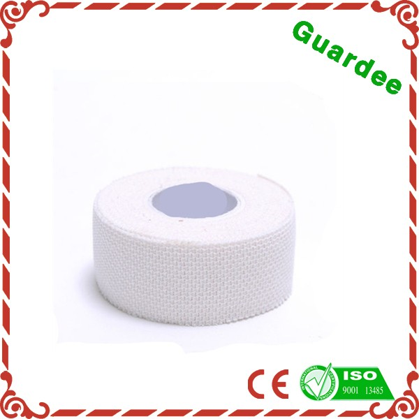 1' x 5Y White Cotton Medical Elastic Zinc Oxide Adhesive Bandage Finger Protector