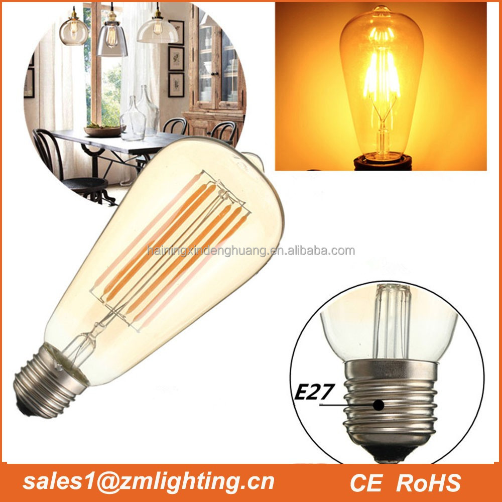 High quality 4w led filament bulbs parts component