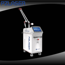 2016 Newest!1064nm 532nm picosecond nd yag laser pulsed dye laser for tattoo removal vascular and skin rejuvenation