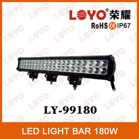 LED companies looking for distributors 4x4 light bar 180w waterproof IP67 light bar led off road