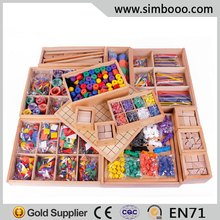 2015 Gabe Educational Toys for Kids gabe 1-10 J1 J2 5B 5P Wooden Blocks Preschool Education