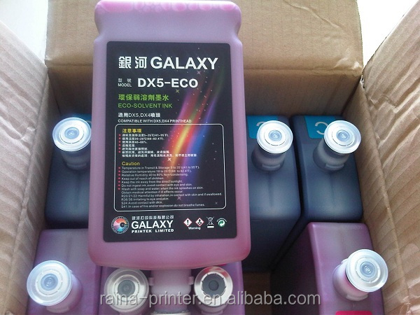 Galaxy Dx5 Eco Solvent Ink For UD181LA/ UD-211LA/UD-251LA