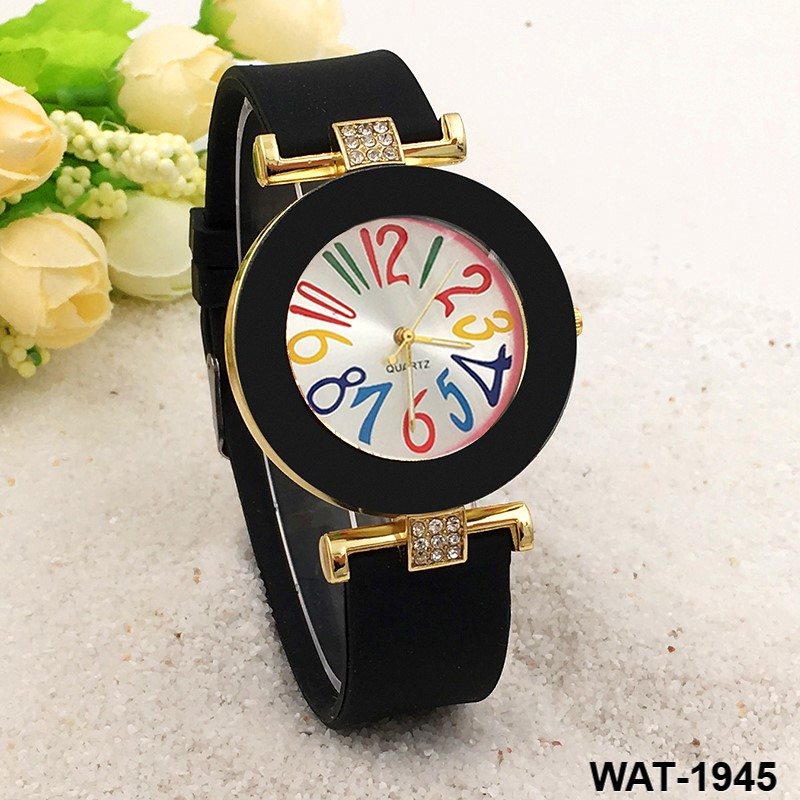 Hot Geneva silicone watch silicone watch Color digital surface