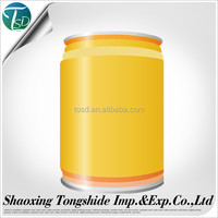 Printing and coating empty customer tinplate beer / beverage cans 250ML