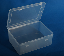 Spare Parts Packaging Small Clear Plastic Boxes With Lid