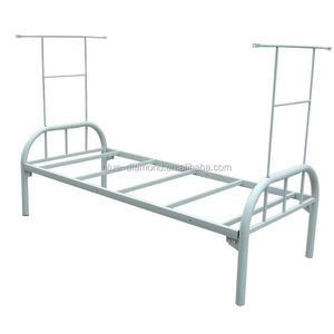 China Single Iron Bed China Single Iron Bed Manufacturers And