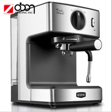 15bar Home Steam Coffee Machine 1.6L Cappuccino Coffee Espresso Maker With Milk TSK-1866AS