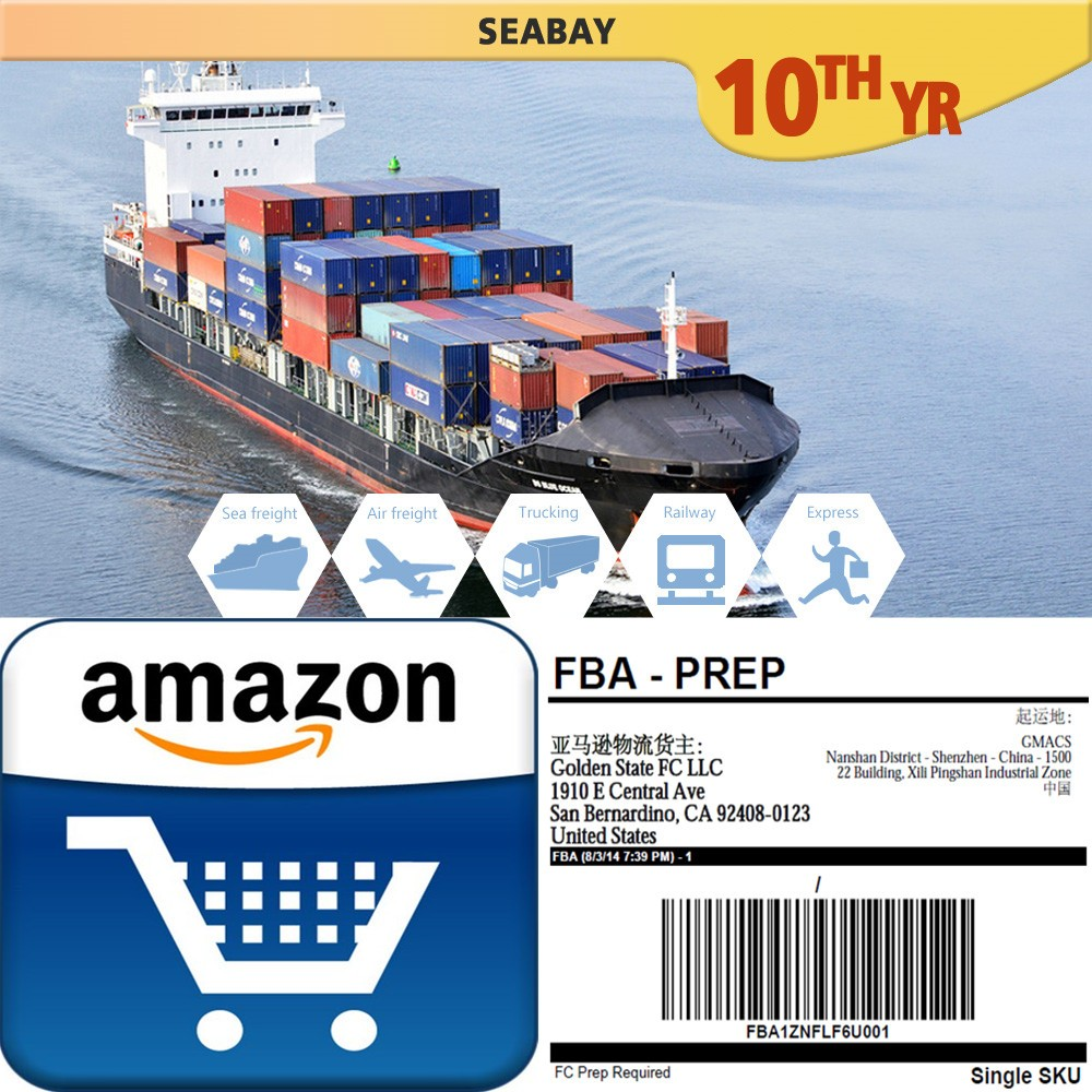 professional amazon FBA sea shipping service China to USA